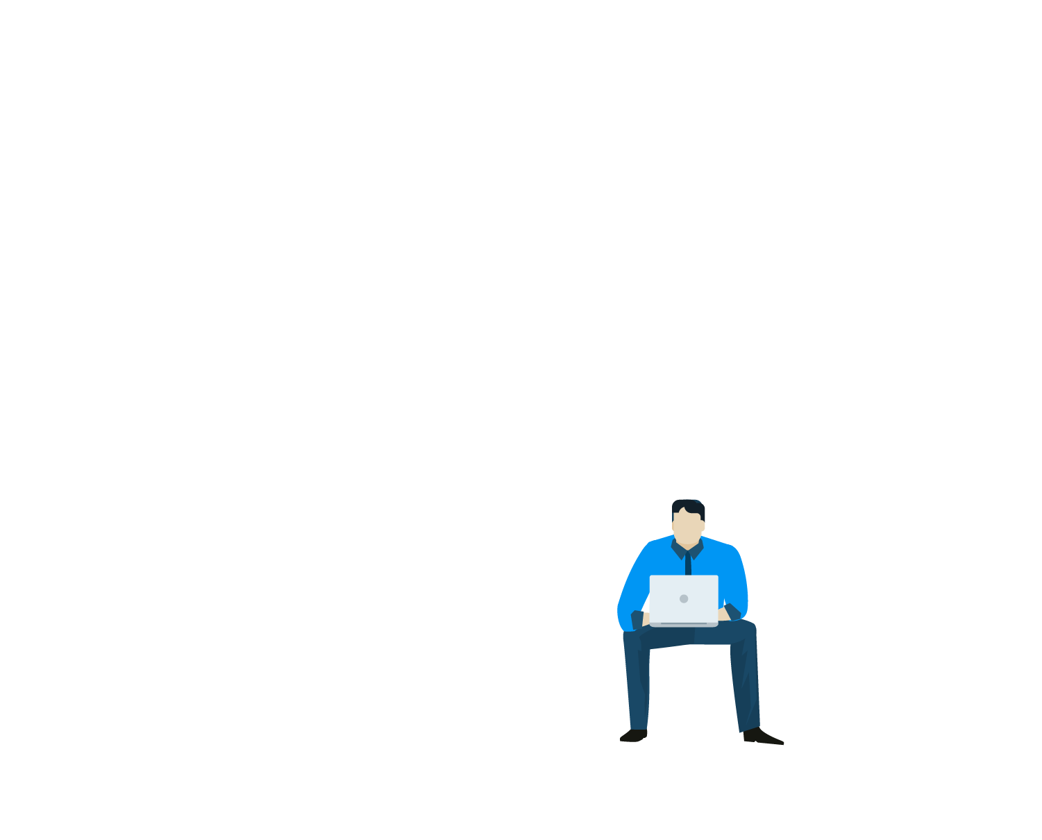 Home Page Banner - Sitting Man